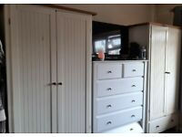 Wardrobes chest drawers