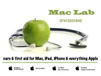 MacLab -Care And First Aid For Mac, iPad, iPhone & Everything Apple