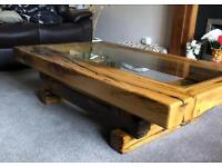 Large Jarabosky French Sleepers Coffee Table