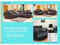 CORNER OR 3+2 SHANNON SOFA SUIT AVAILABLE BOTH IN VELVET AND FABRIC/BEST SELLING SOFA spvK