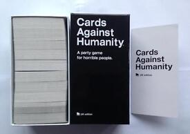 Cards against humanity- A Party Game for Horrible people