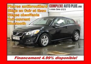 2011 Volvo C30 T5 Level 2 *Toit ouvrant, Cuir simili