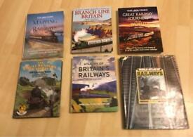 Assorted Railway & Train H/B Books (£5 EACH)
