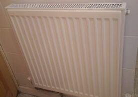 Small white radiator £15