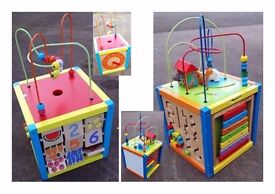 Wooden Activity Cubes