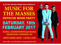 Music for the Masses – Depeche Mode Party @ Surya