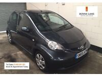 Toyota Aygo +vvt-i 5 door Ideal First Car, Low Mileage, £20 A Year Tax 50Mpg 3 Month Warranty