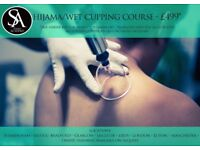 Hijama Course - Only £499 (includes starter kit for treatments up to the value of £200)