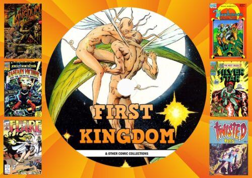Fist Kingdom Comics & Others On PC DVD Rom (CBR FORMAT)