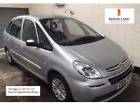 Citreon xsara Picasso 1.6 Mpv 2 Owners, Stamped History, low mileage, Air Con, 3 Month Warranty