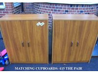 Pair of Matching Cupboards