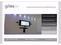 TV Installation, CCTV, Home cinema, Audio Visual Support - Call Us