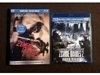 The Zombie Diaries 1 & 2 (4-Disc FRENCH EDITION Blu Ray + Dvd, Region Free) RARE £30 o.n.o