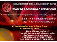Choreographed dances for adults