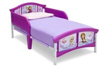 Disney Frozen Toddler Bed Elsa Anna Child Girl's Room Mattress Included