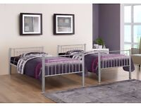 ▶️CHEAPEST EVER PRICE◀️GET BRAND NEW HIGH QUALITY METAL BUNK BED! WITH METAL MESH FOR THE BASE