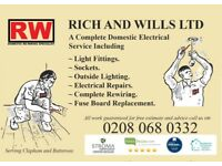 LONDON ELECTRICIAN SERVICE CALL 0208 068 0332