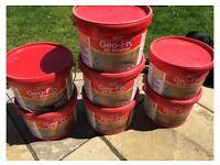 Slate Gray Geofix All Weather Jointing Compound for patios 7 sealed tubs