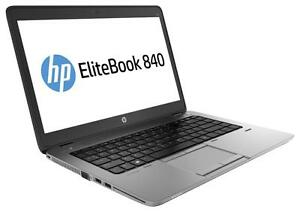 "HP EliteBook 840 G1 Ultrabook 14"" Laptop intel i5 4300M 2.60GHz 4GB RAM 256GB SSD Windows 8 Pro"