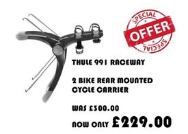 THULE 2 Bike rear mounted cycle carrier