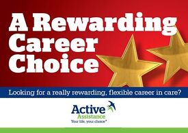 Live-in Personal Healthcare Assistants / Support Workers - Aylesbury