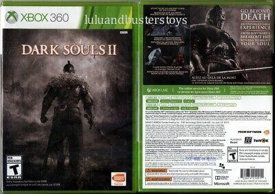 Microsoft XBOX 360 DARK SOULS II 2 Bandai Namco Video Game Brand New Sealed comprar usado  Enviando para Brazil