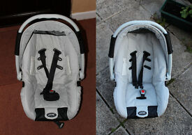 2 Jane car seats suitable for Powertwin (£0)