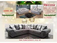 CHRISTMAS CRACKER SALE**VERONA SOFA COLLECTION £699.99**