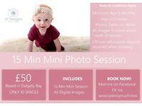 £50 Mini Photography Session All Digital Images Inc
