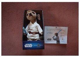 Luke Skywalker Star Wars meerkat soft toy