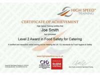 Level 2 Food Hygiene & Safety - For Catering