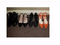 Size 4, NEW LOOK, TOPSHOP, ZARA, ladies shoes