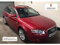 Audi A4 Avant 3.0 Tdi Quattro Auto Paddle Shift 1 Owner Heated Leather Sat Nav Bose Sound Warranty