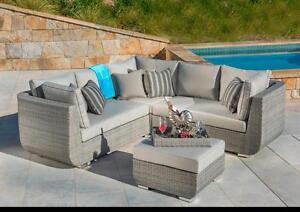 Ensemble de sofa extérieur 4 pièces (MS054)