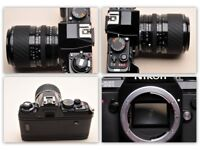 Nikon F-301 35mm Film Camera with Sigma 28mm-70mm lens in great condition £45.00 ono
