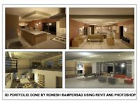 Architectural Draughting 2D and 3D Drawings