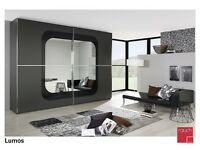 sliding with mirror wardrobe and fixing available