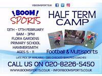 Half Term Sports Camp