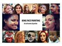 **** TRAINED PROFESSIONAL FACE PAINTER/FACE PAINTING ~ ALL PARTIES *** FACEPAINTING/GLITTER/BODYART