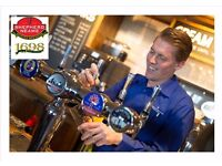 Full time bar staff required at the Bishops Finger, Canterbury, Kent