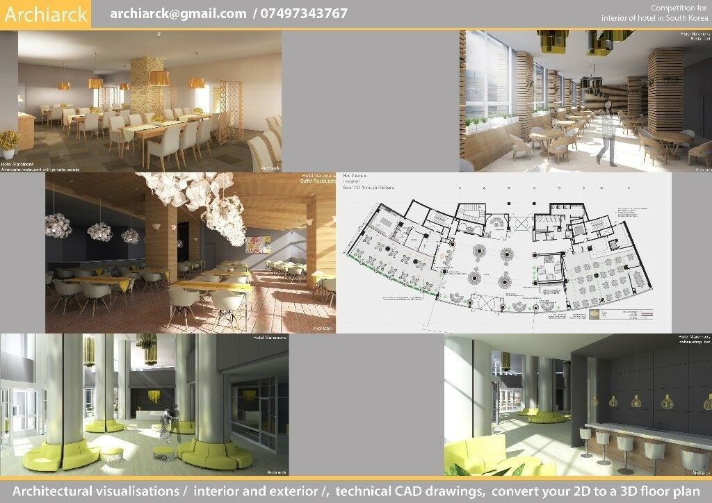 Low Cost Architectural Visualization Interior And Exterior Interesting 2D Interior Design Property