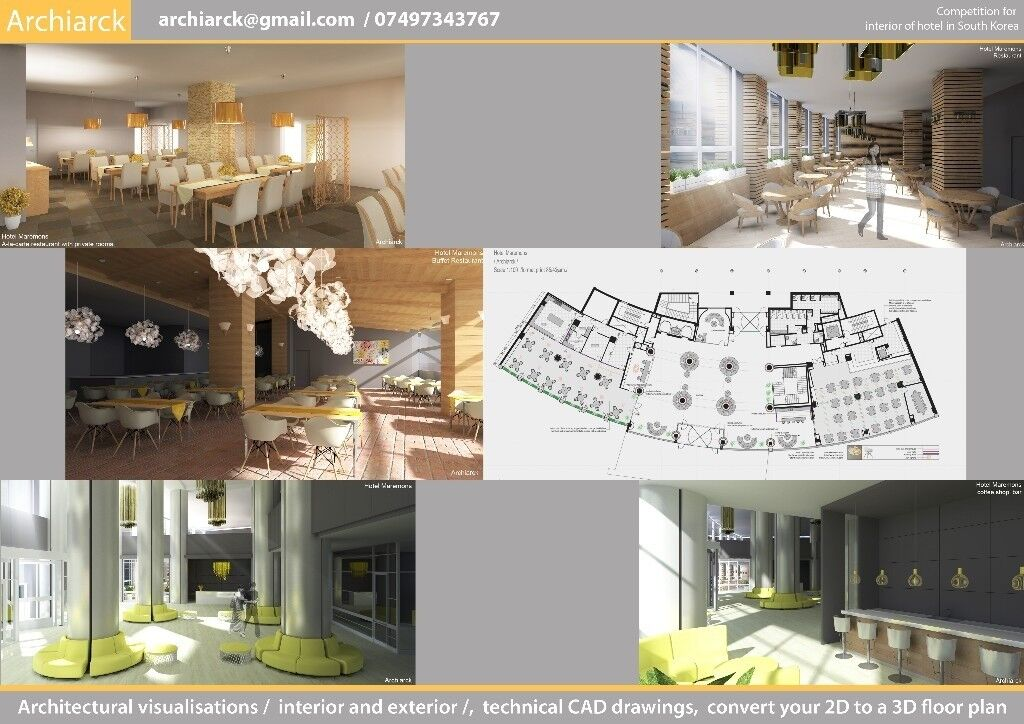 Low Cost Architectural Visualization Interior And Exterior Beauteous 2D Interior Design Exterior
