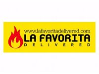 La Favorita Edinburgh Pizza Delivery Driver