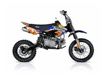 STOMP SS 120 PIT BIKE, NEW, KIDS MOTORBIKE, CHILDS MOTORBIKE, KIDS DIRT BIKE, MOTOR BIKE.