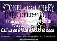 Stoneleigh Abbey Dark Deeds Tour
