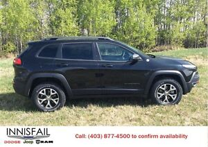 2016 Jeep Cherokee Trailhawk 4x4 Heated Seats Heated Steering Wh