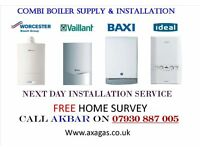 BOILER INSTALLATION,back boiler & tanks removed,HEATING,meagflo,VAILLANT,hob,cooker,gas cert,VAILANT