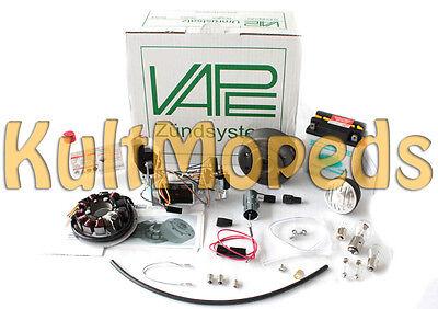 Vape 3 Elektronik Zündung Lichtmaschine 100W 12V pass f Simson KR51 Schwalbe 35W