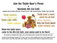 Teddy Bear's Picnic at Westgate Ark Cat Cafe