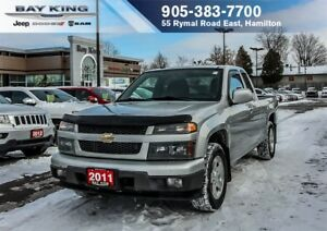 2011 Chevrolet Colorado COLORADO LT, HITCH RECEVIER, PWR LOCKS/W